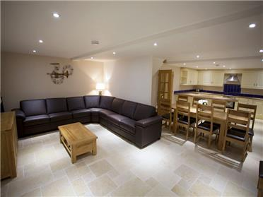 The spaces lounge area is a joy and has lots of seating where the high occupancy self catering is being used.