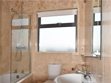 Example bathroom, some do not have a window