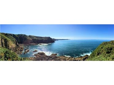 Jersey has a stunning north coast with fantastic coastal walks.
