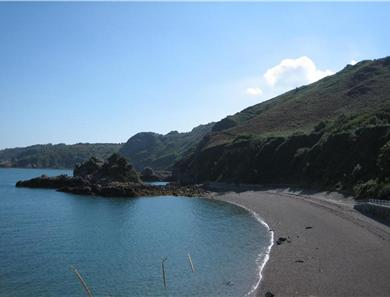 Beautiful Bouley Bay is just a short stroll down the road and often has a lovely emerald sea.