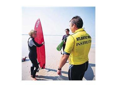 If you are feeling energetic you can have surfing lessons at an approved surf school