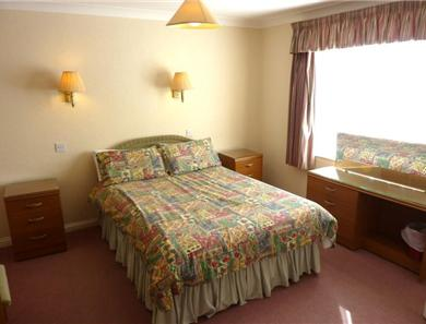 Bedroom example in 2 bedroom 1 bedroom apartment, twin beds also available on request