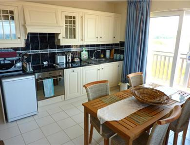 Vista apartment kitchen-diner area.  One of the Vista Apartments has separate kitchen.