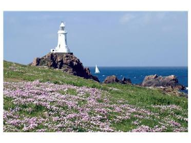 The famous lighthouse is nearby and there are great views from the sea facing apartments - (The view is better than this picture but different!)